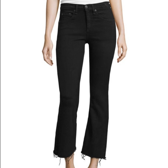 rag & bone Denim - Rag & Bone Wide Leg Jeans 25